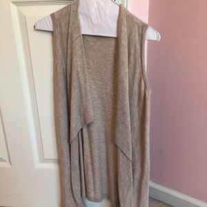 Ann Taylor cardigan vest